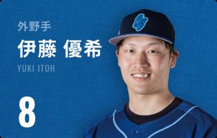 外野手 伊藤 優希